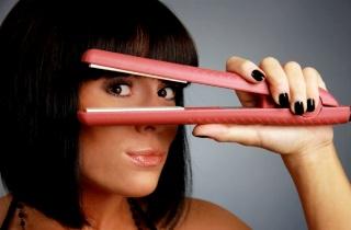 Как пользоваться паровым утюжком для волос