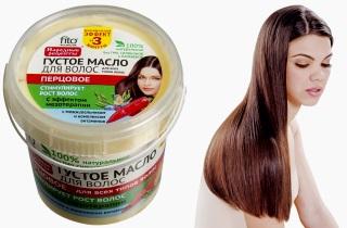 Перцовое масло для волос