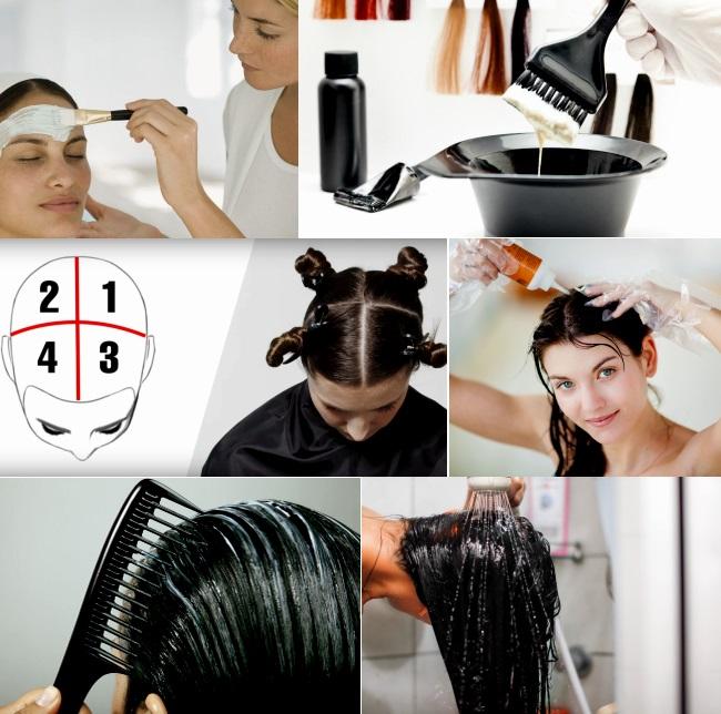 Можно ли окрасить корни волос в домашних условиях