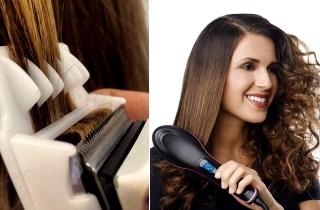 Полировка и ламинирование волос