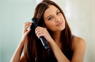 Делаем волосы гладкими и прямыми