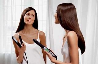 Выбираем эффективное средство для выпрямления волос