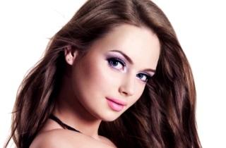 Как окрасить волосы в темно-русый цвет