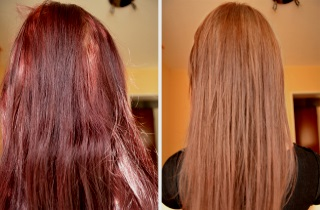 Как смыть красный оттенок волос после окрашивания