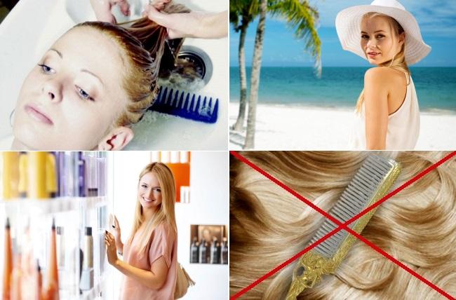 Чем убрать желтизну с волос после окрашивания
