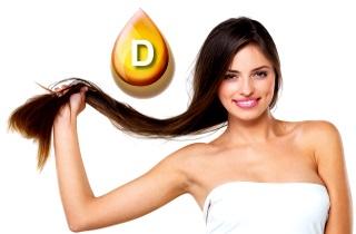 Какая польза витамина Д для волос