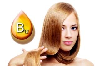 Витамины B12 для волос