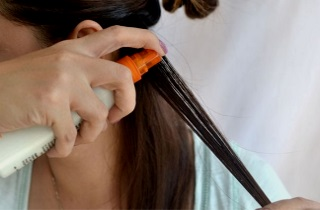 Применение воска для волос