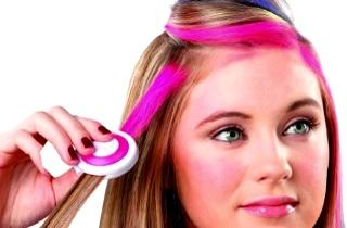 Как выбрать временную краску для волос