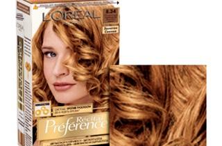 Выбираем золотистую краску для волос