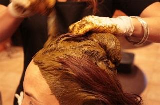 Окрашивание волос в золотистый цвет в домашних условиях