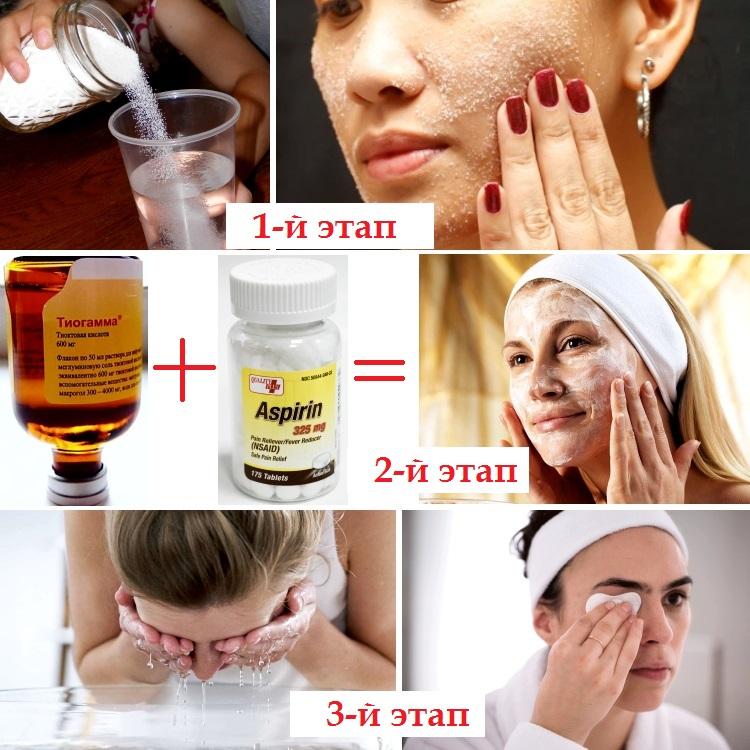Способы применения «Тиогаммы» для лица