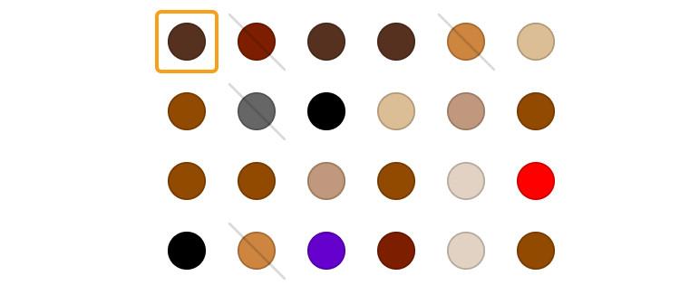 Набор оттенков Palette
