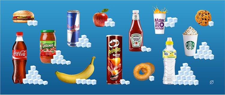 При выборе продукта, внимательно читайте в инструкции содержание сахара